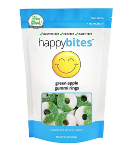 Happy Bites Green Apple Rings