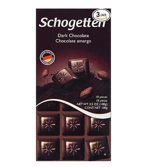 Schogetten Dark Chocolate