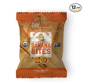 Banana & Peanut Butter Bites