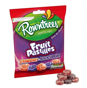 Rowntrees Strawberries and Black Currant