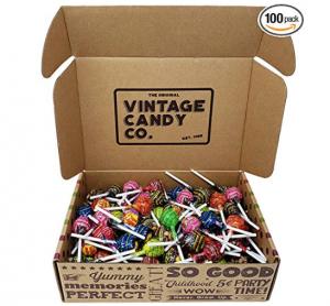 Vintage Candy Variety Lollipops