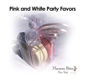 Macaron Bites Pink & White