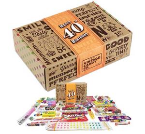 Vintage Candy 40th Birthday