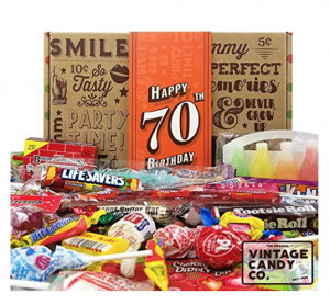 Vintage Candy 70th Birthday