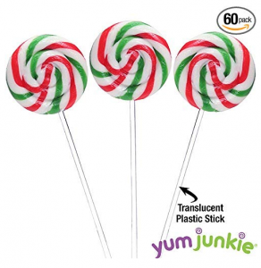 Yumjumkie Swirl Pop Red Green White