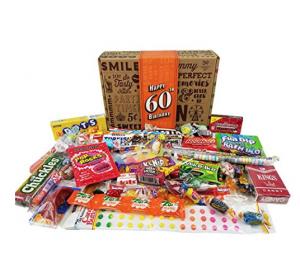 Vintage Candy 60th Birthday