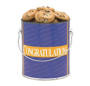 Apple Cookie Congrats Assorted Bucket