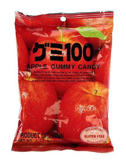 Kasugai Gummy Apple