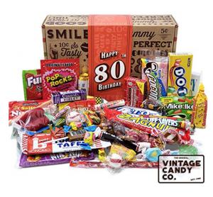 Vintage Candy 80th Birthday