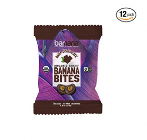 Banana Dark Chocolate Bites