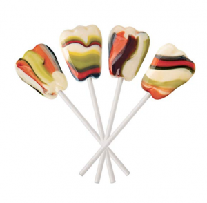Dr. John's Tooth Shaped Lollipops