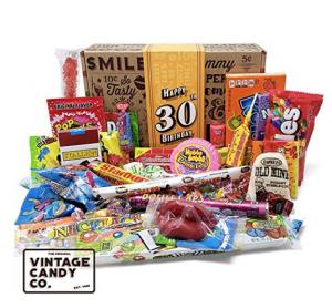 Vintage candy 30th Birthday