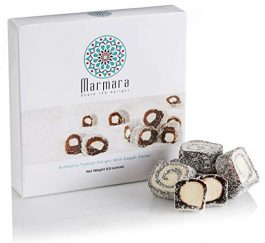 Marmara Authentic Nut Free Turkish Delight Lokum Candy/Sweet Confectionery Gourmet Gift Box Candy Dessert