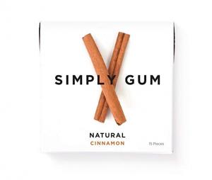 Simply Gum Cinnamon
