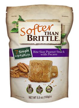Softer than Brittle Pecan 5.5 oz (ounce)