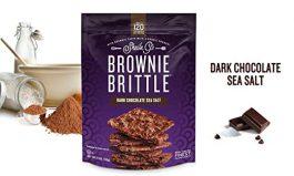 Brownie Brittle, 5 oz, Dark Chocolate Sea Salt (Pack of 6)
