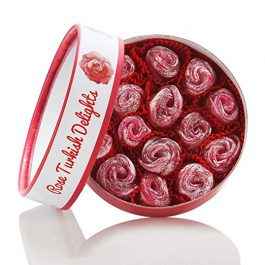 Marmara Rose Shaped Turkish Delights sweet confectionery dessert box candy 12 Oz