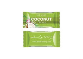 ALE + WANG Coconut Cremes Hard Candy | Made with 100% Pure Coconut Milk | Great Alternative to Chocolate, Caramel, and Toffee (1-Pound Bag)