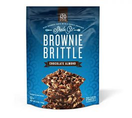 Brownie Brittle Chocolate Almond, 5oz, 6Count