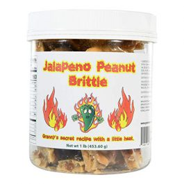 Jalapeno Peanut Brittle. Granny's Famous Recipe With A Little Kick. – One Pound (16 oz) Container
