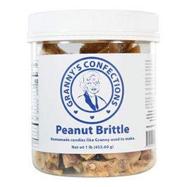 Handmade Peanut Brittle. Voted Best Peanut Brittle. – One Pound (16 oz) Container