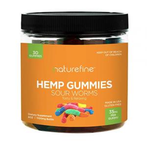 Nature Fine Hemp Gummy Worms