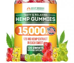 Nature Fine Hemp Gummy Bears