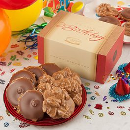Birthday Box of 10 Pralines & Bear Claws