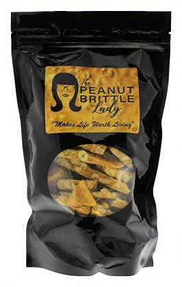 Top Shelf Handmade Gourmet Peanut Brittle Candy, Small Batch, Homemade; Size: Tasty Two (2 oz)