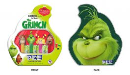 PEZ Candy Grinch Gift Tin, 1.74 Ounce, Pack of 1