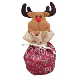 Lumumi Christmas Candy Packaging, Santa Claus Snowman Elk Christmas Candy Decoration