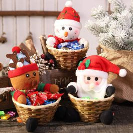 Christmas Candy Storage Basket