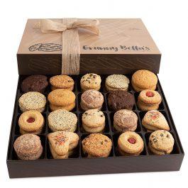 Granny Bella's Christmas Cookie Gift Baskets, 52 Gourmet Cookies