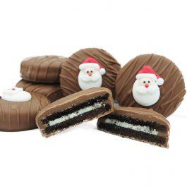 Philadelphia Candies Milk Chocolate Covered OREO Cookies, Christmas Santa Claus Gift