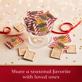 Ghirardelli Limited Edition Peppermint Bark Squares Bag, Dark Chocolate, 7.7 Ounce