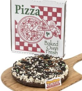 Gourmet Chocolate Gift Box | Double Mint Oreo Cookie Chocolate Lovers Popcorn Pizza | Kosher Certified – by NomNom Delights