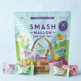 SMASHMALLOW Easter Fun Size Variety Pack | Snackable Marshmallows | Assorted Flavors | Non-GMO | Organic Cane Sugar | 30 Individual Treats